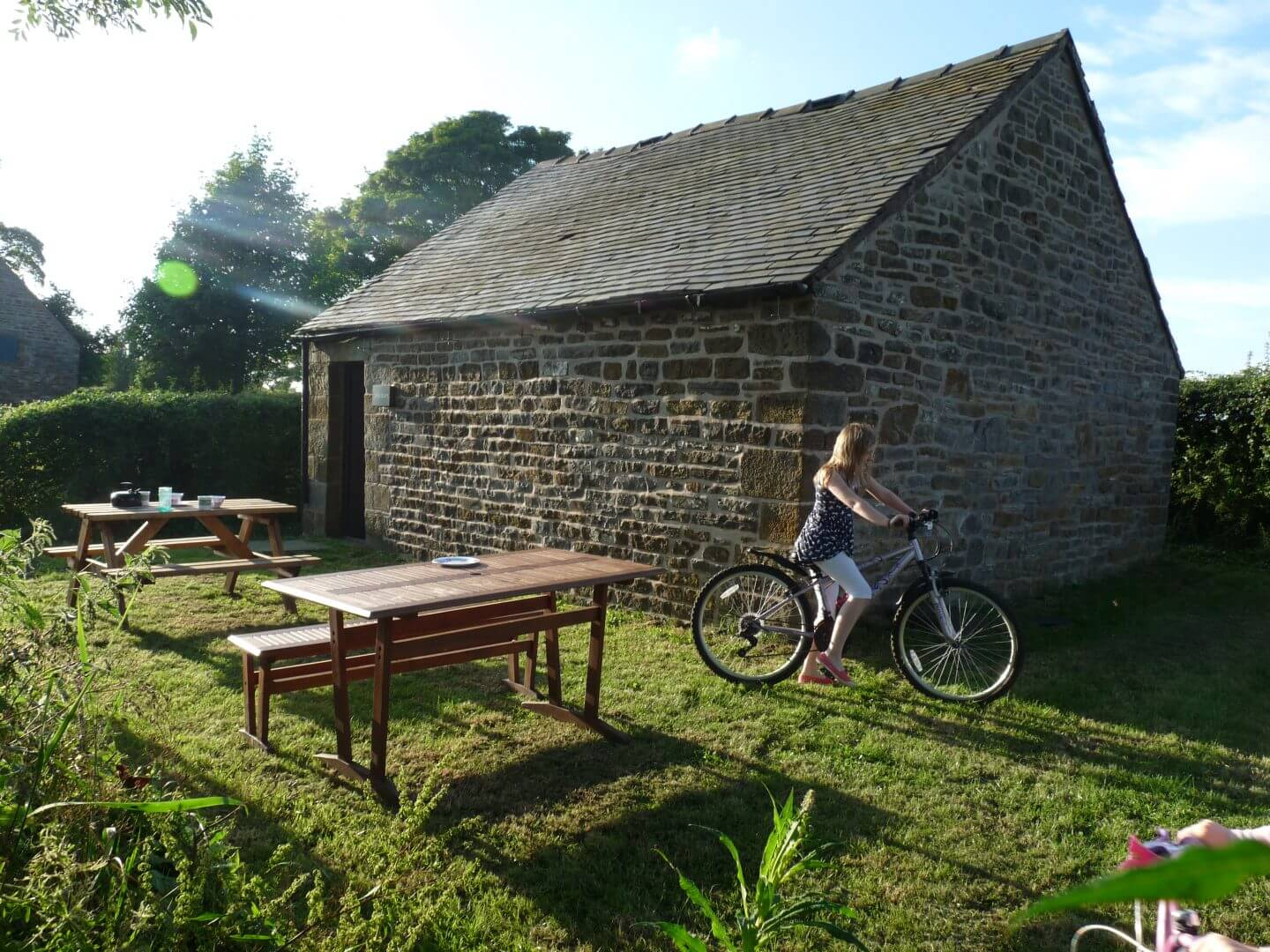 Butterton Camping Barns Waterslacks and Wills Barns - self catering - family holiday - glamping - Staffordshire