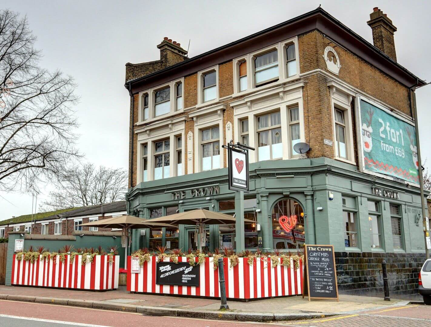 Book Direct Here for Publove@The Crown in London