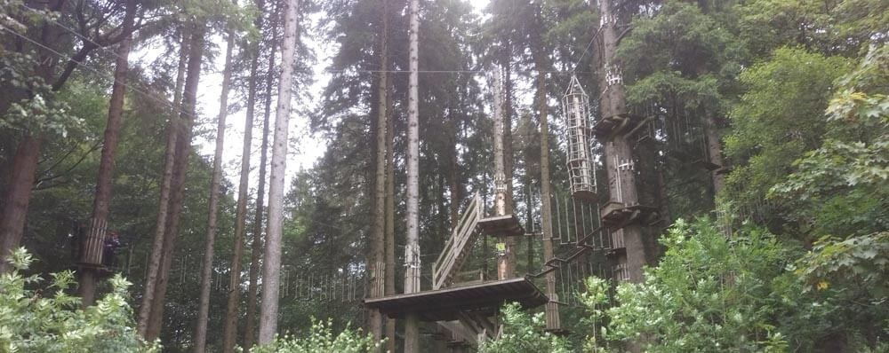 Tree Top Challenge at Go Ape