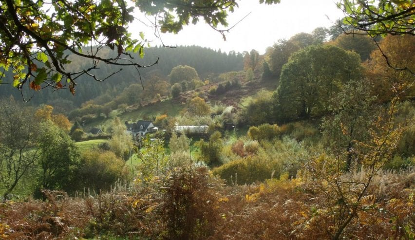 middle ninfa bunkhouse in autumn