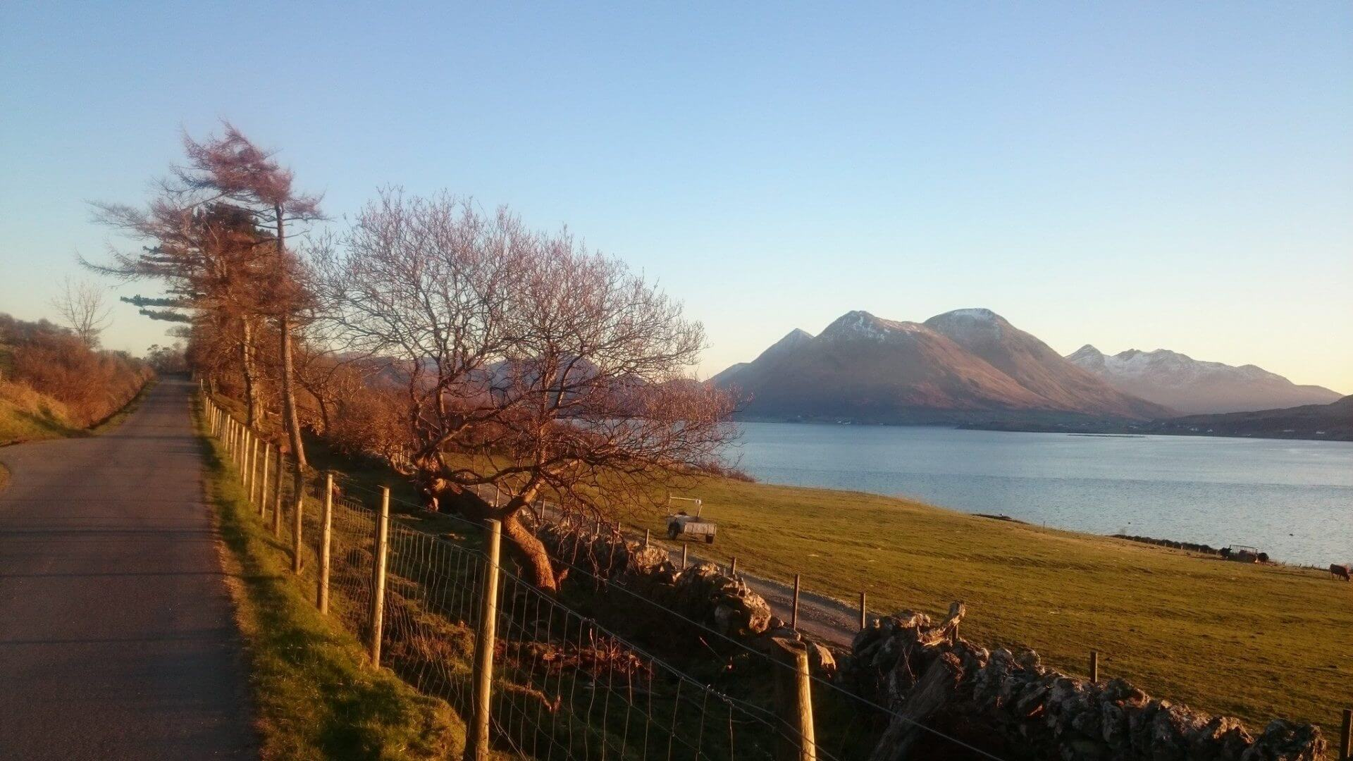 Raasay House - self catering - historic building - mainland Skye