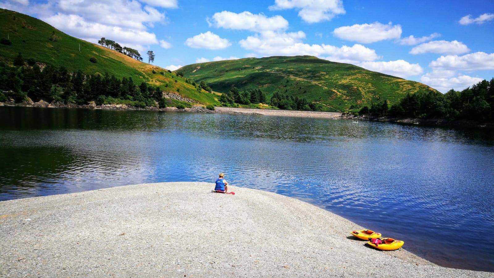 Kayaking and canoing at Hafren Forest Bunkhouse