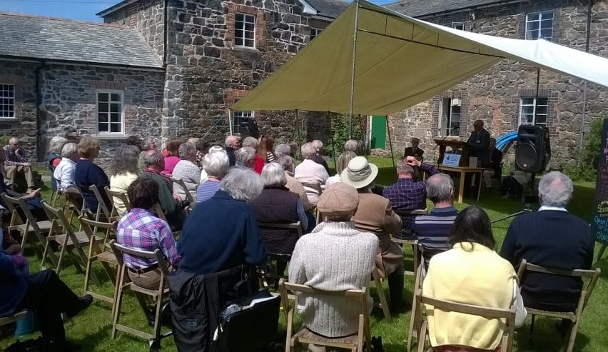 Opening of the history Centre at Y Dolydd Workhouse