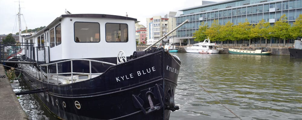 Kyle Blue Boat accommodation in Bristol Harbour