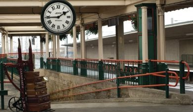 Carnforth Station used for the 1945 film Brief Encounter