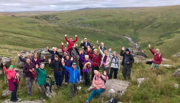 dartmoor and exmoor walkers