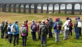 Settle to Carlisle walkers