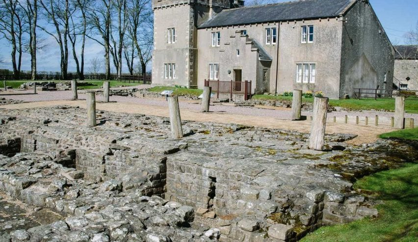 Birdoswald Bunkhouse - Hadrians Wall ancient roman fort remains