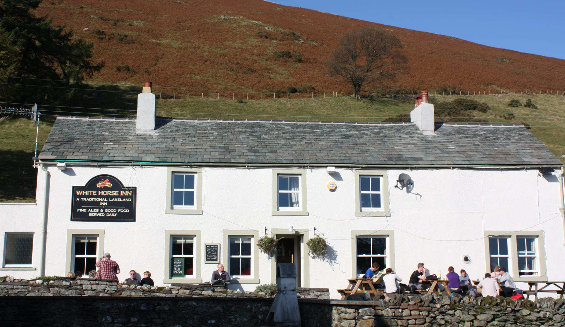 The White Horse Inn Bunkhouse Bunkhouse, Inn and group accommodation at the foot of Blencathra in the Lake District