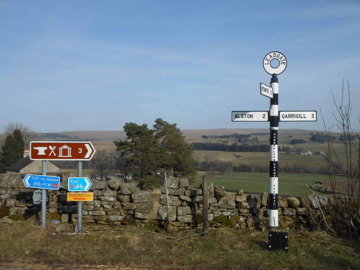 Alston Youth Hostel - Cumbria - C2C cycle route - Pennine Way