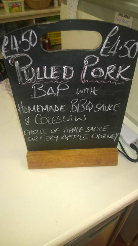 Pulled Pork at Fox Tor Cafe and Bunkhouse - Dartmoor, Devon