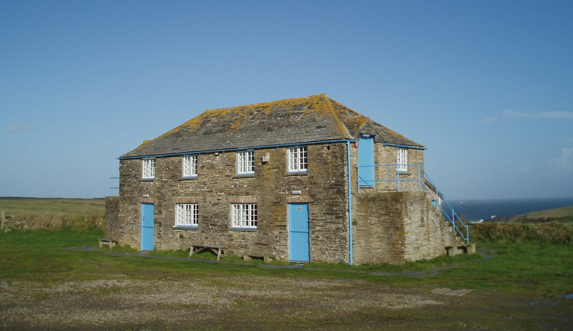 Beach Head Bunkhouse in Cornwal