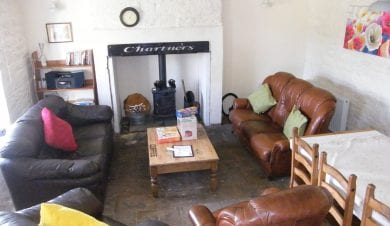 Chartners Farm walking accommodation on St Oswalds Way