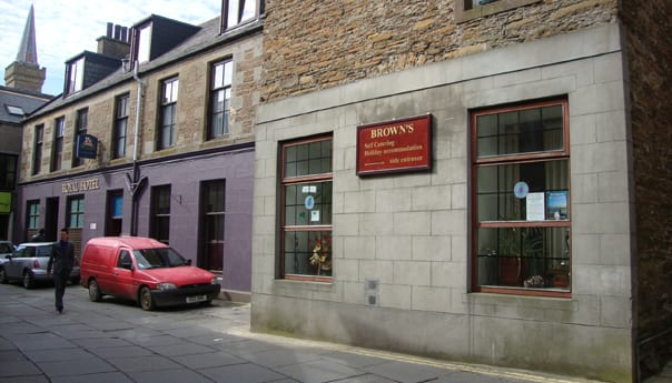 Browns Hostel Stromness Orkney
