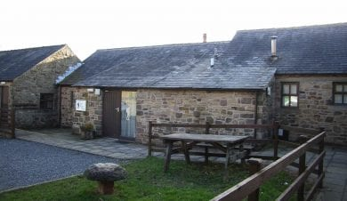 John Hunt Centre group accommodation at Hagg Farm in the peaks