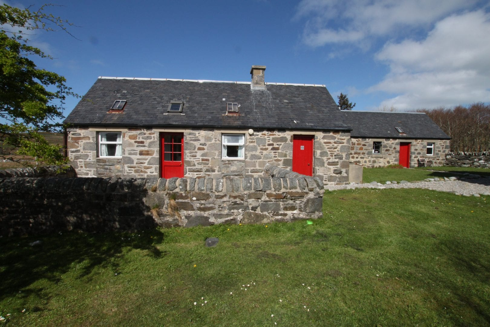 Colonsay Bunkhouse on a scottish island