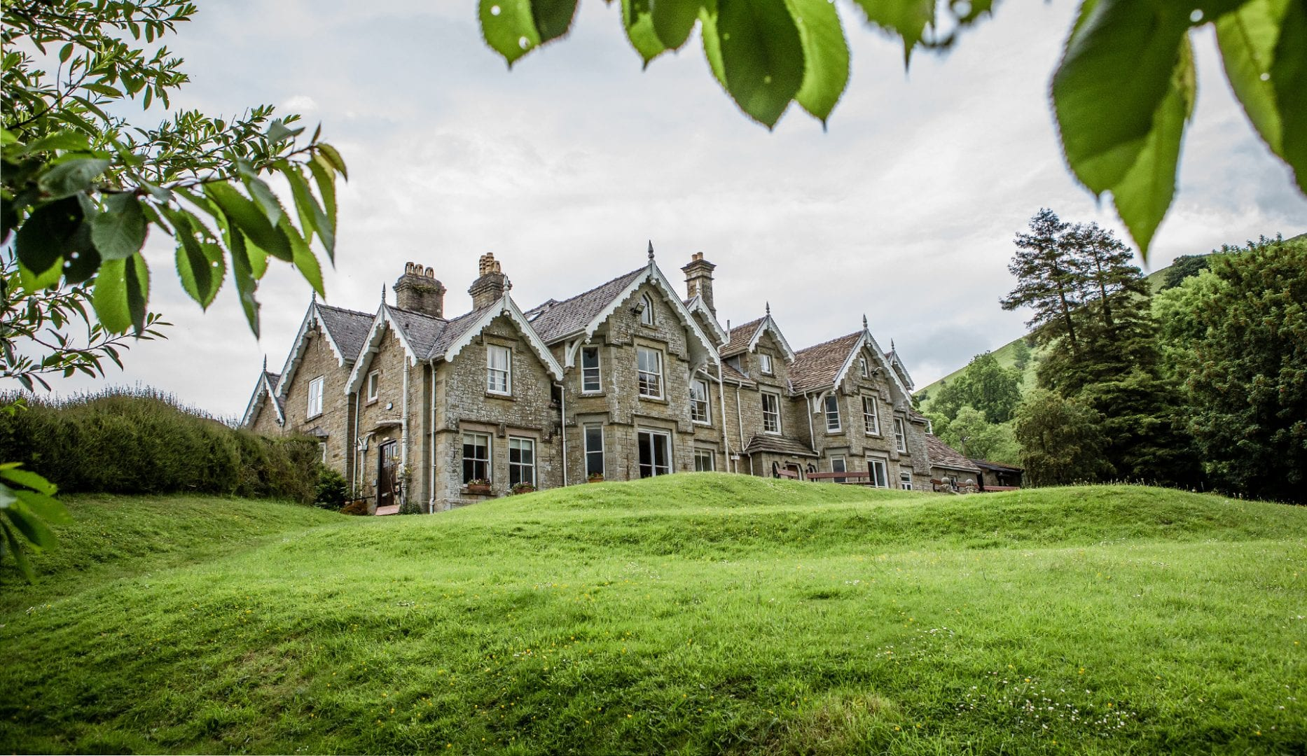 Dunfield House Group Accommodation on the Welsh Borders