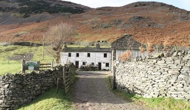 Shepherds Crook Bunkhouse at Norran Bank Farm in Patterdale