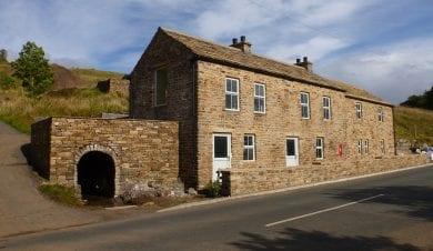 Haggs Bank Bunkhouse accommodation in the north pennines
