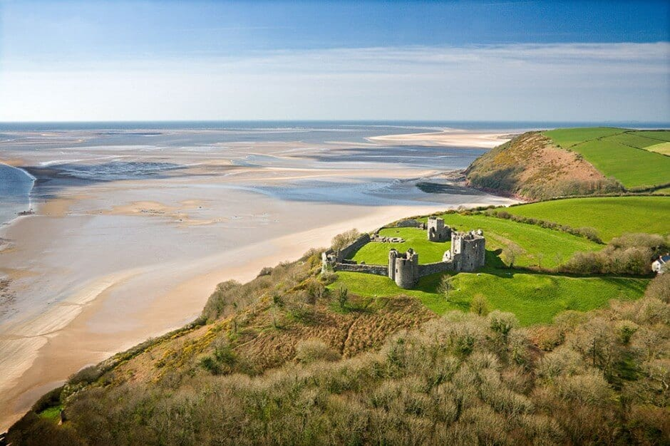 Pantyrathro International Hostel - LLansteffan Castle