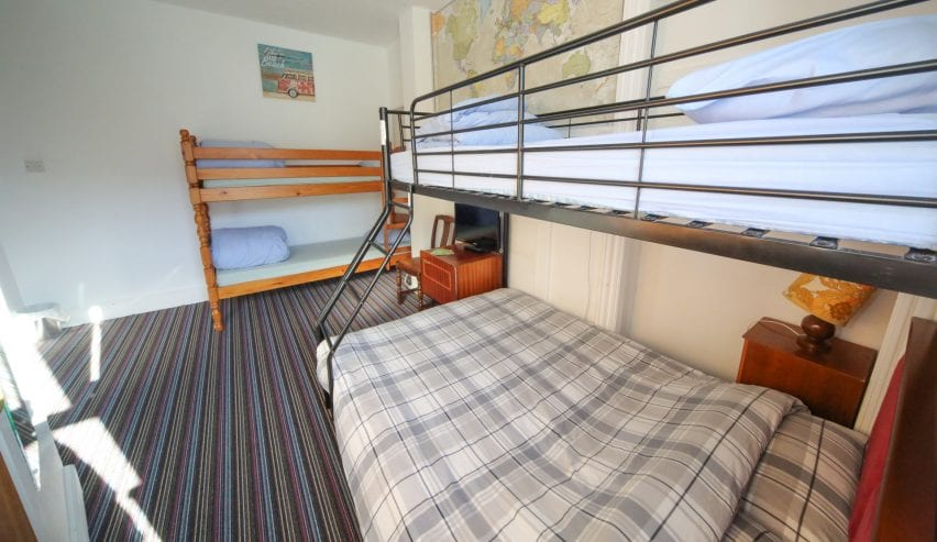 Family Room at Ocean Backpackers, Ilfracombe, Devon