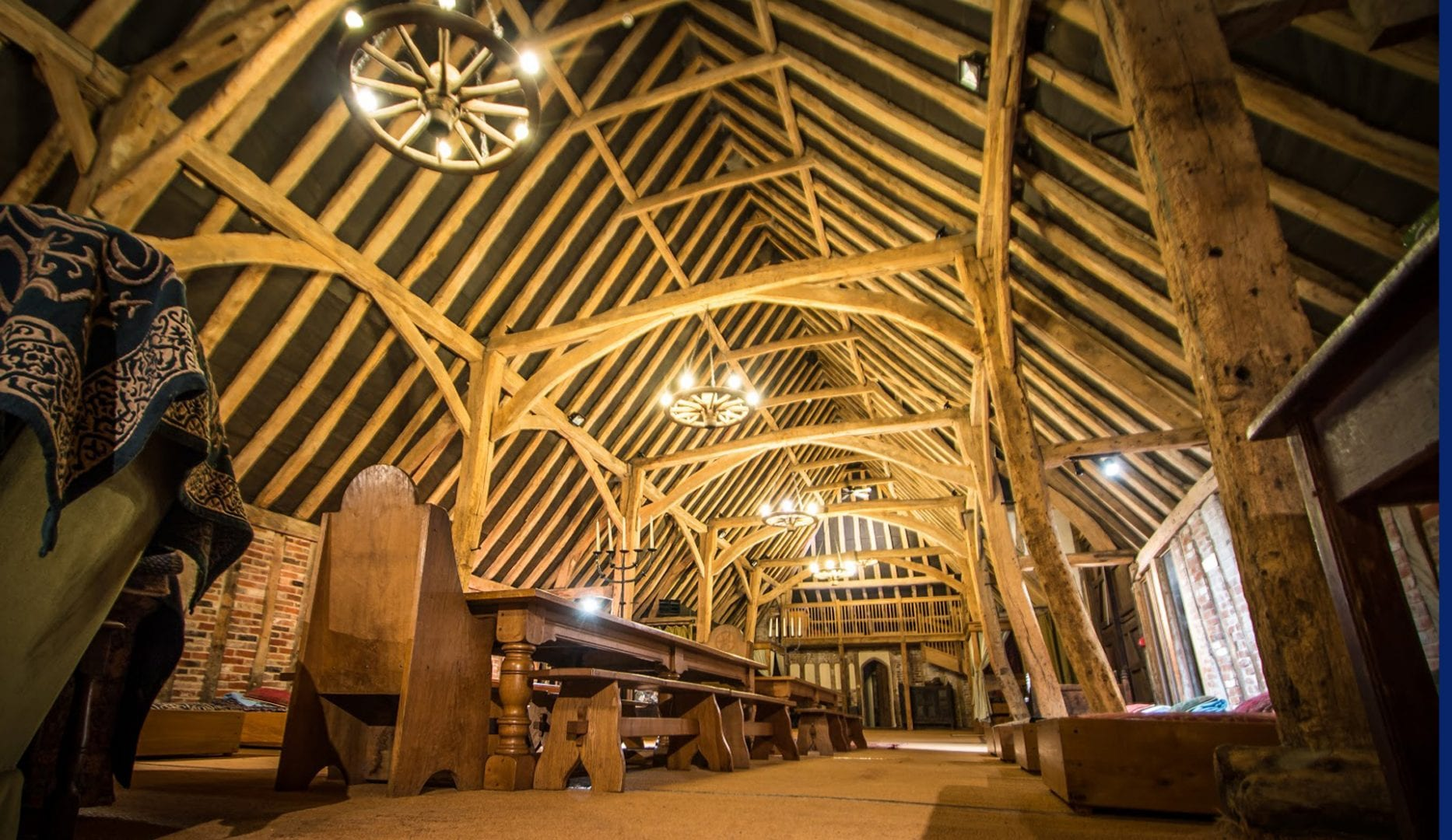 October half term at Tudor barn