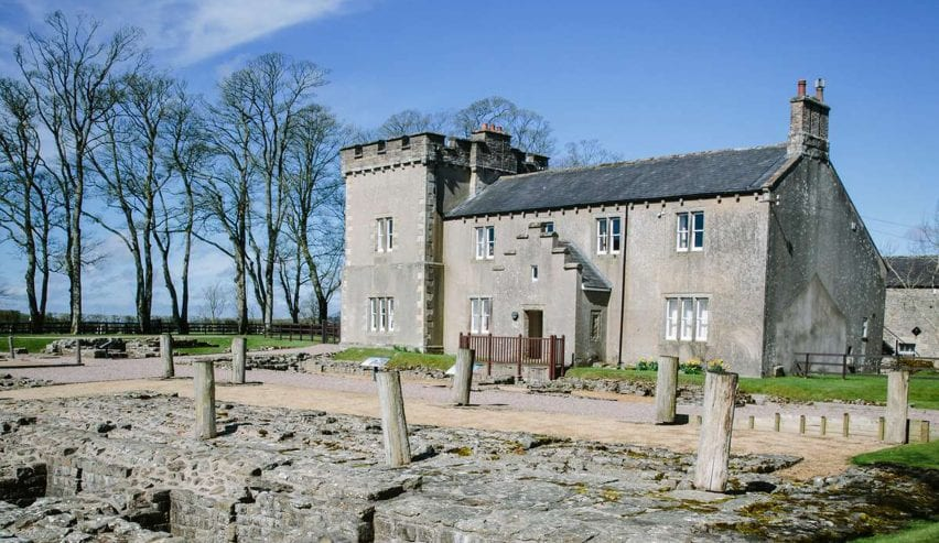 birdoswald bunkhouse on Hadrians Wall