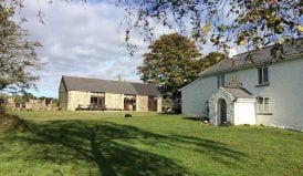 clyngwyn bunkhouse in the Brecon Beacons