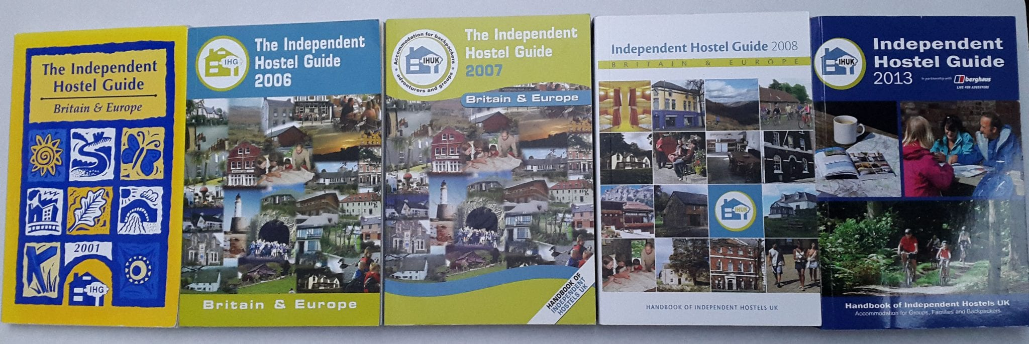 independent hostel guides from 1999 to 2013
