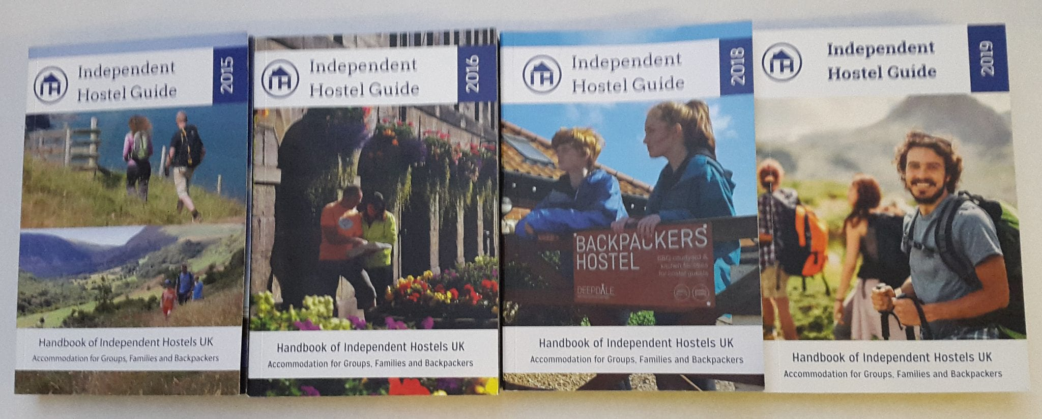 Independent Hostel Guides from 2013 to 2019