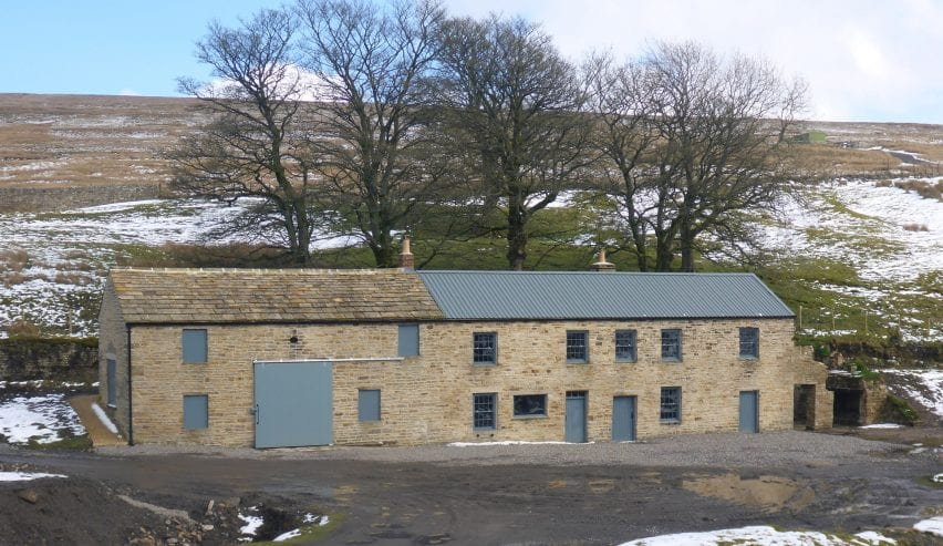 Carrshield Camping Barn, within the hostoric Barney Craig mine shop in the North Pennines, Northumberland