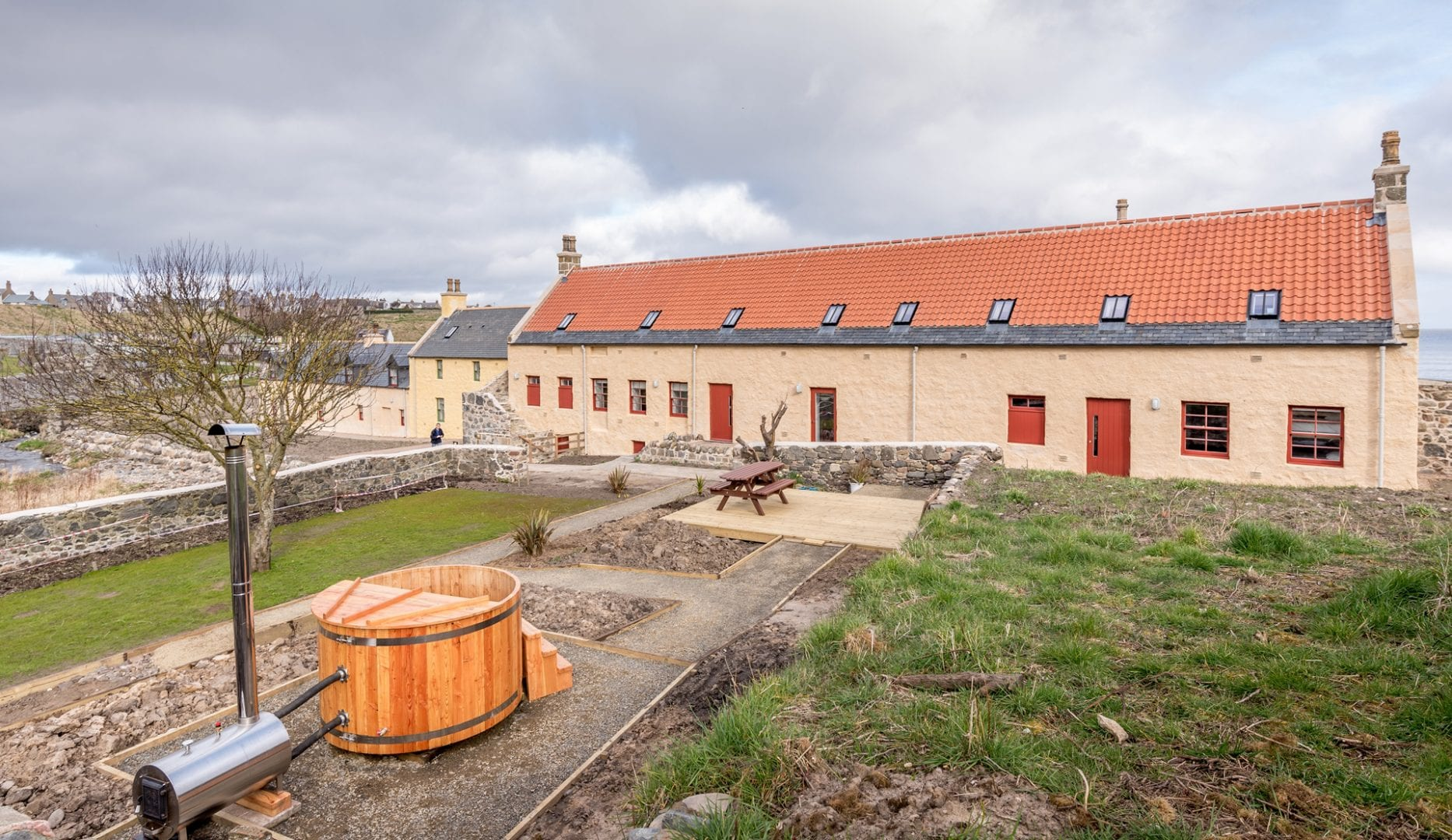 The Sail Loft Bunkhouse in Portsoy on the Moray Firth Coast