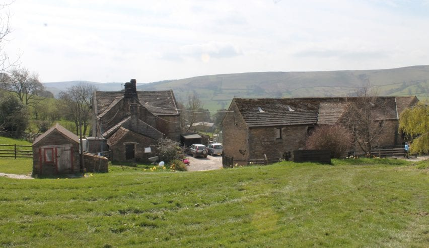 thrope farm bunkhouses near Hathersage