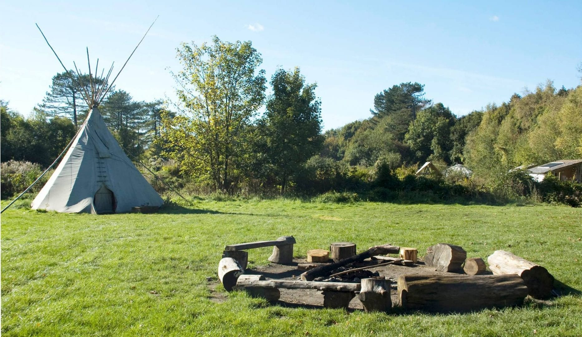 sustainability Centre camp site