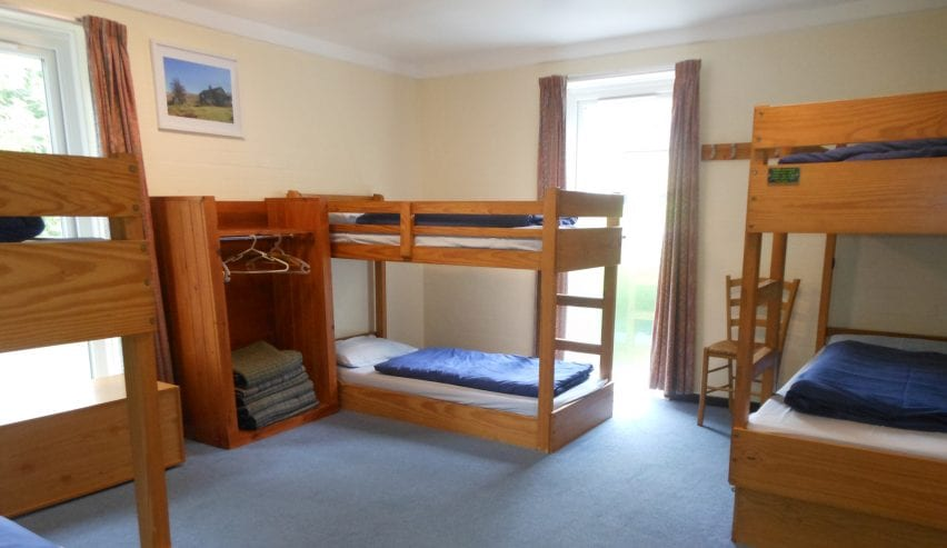 Bunks at Alston Youth Hostel on the Coast to Coast