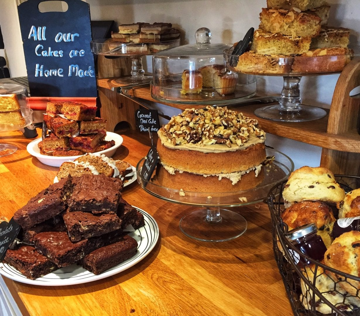 cakes at - Dales Bike Centre - Swaledale - Yorkshire Dales