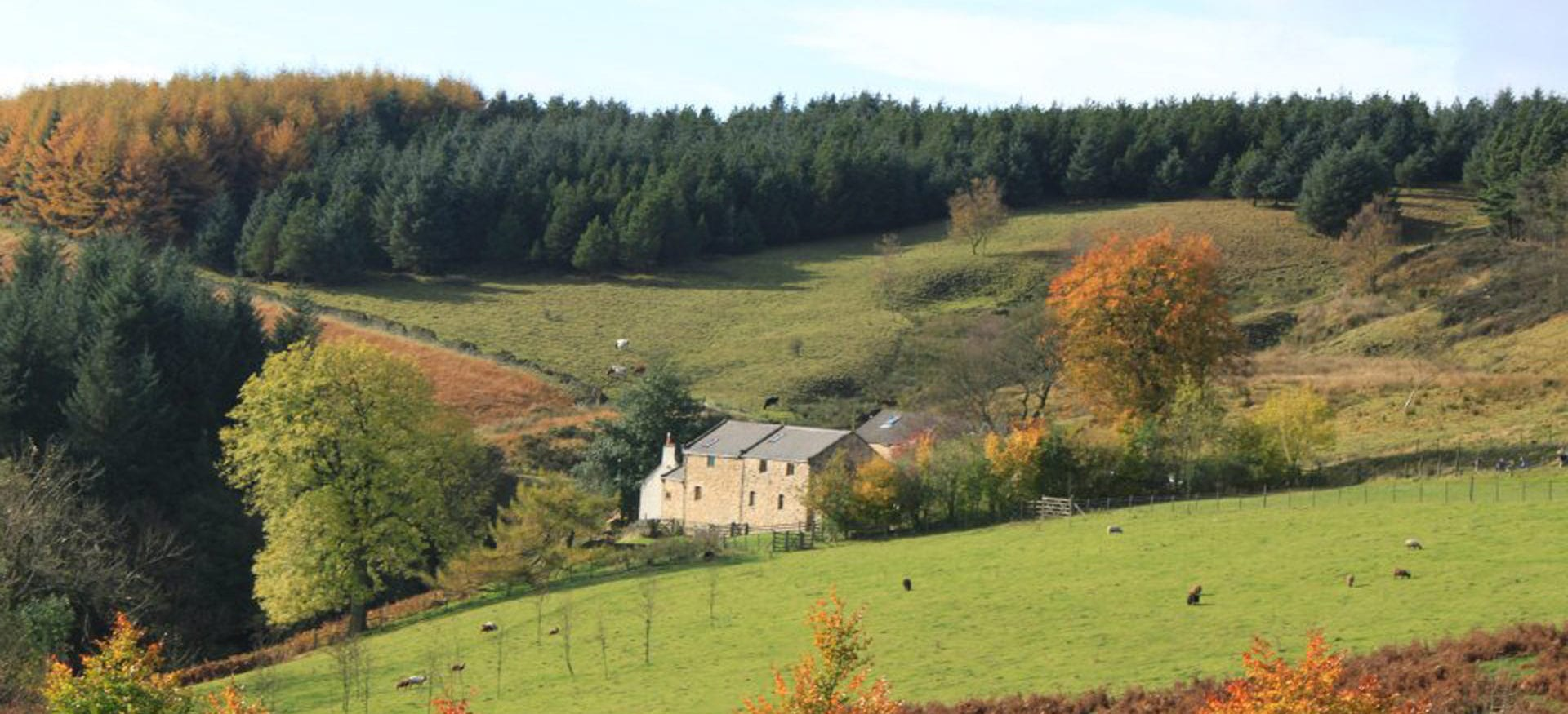 Lockerbrook Farm Outdoor Centre and Hostel, Snake Pass