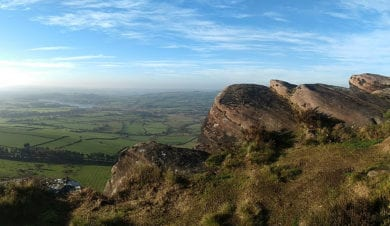 The Roaches Gritstone Outcrop