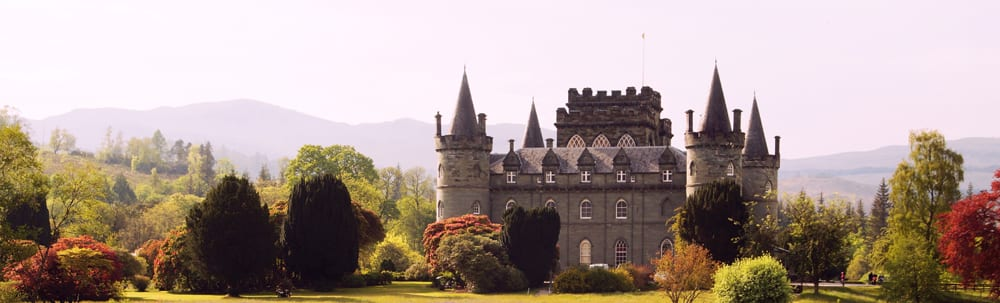 Inveraray Castle close to Inverary Hostel