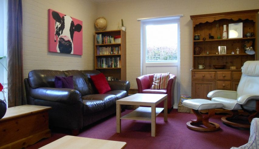 Lounge at Alston Youth Hostel