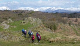 Ulverston WalkFest with accommodation at the Rookhow Centre