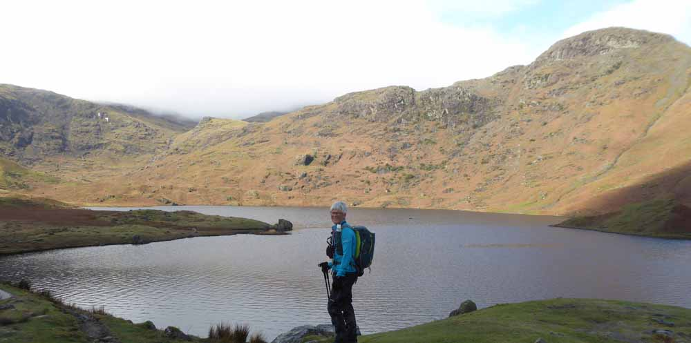A lake in the Bob Graham Round