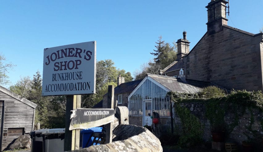 Joiners Shop Bunkhouse near to Bamburgh adn Alnwick, Northumberland