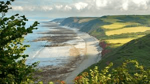 beach by peppercombe