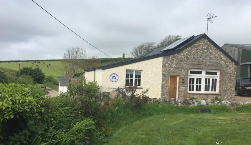 Eastern Slade Barn self catering accommodation on the Gower