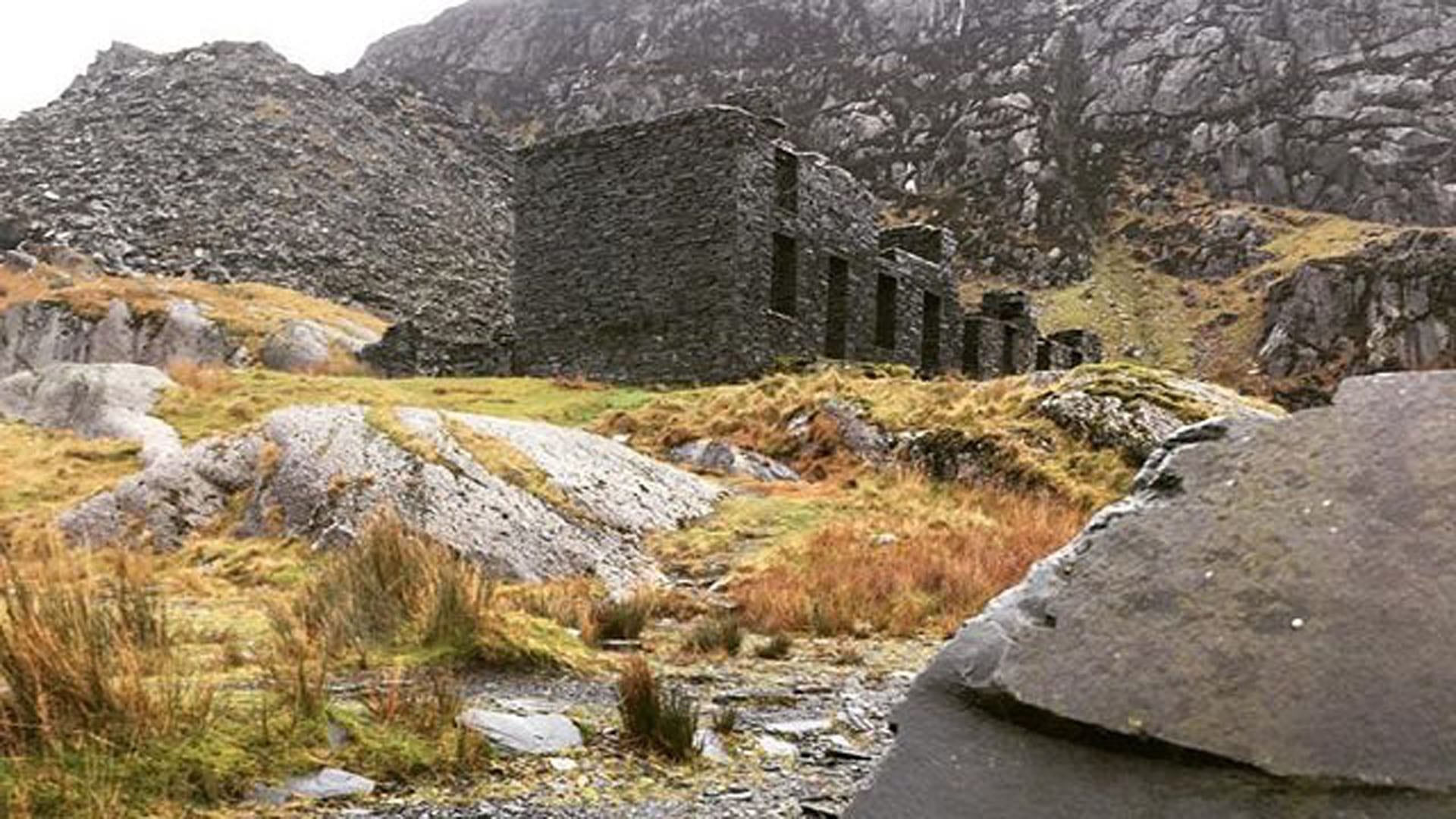 Snowdonia Slate Trail with lots of Independent Hostels providing self catering accommodation