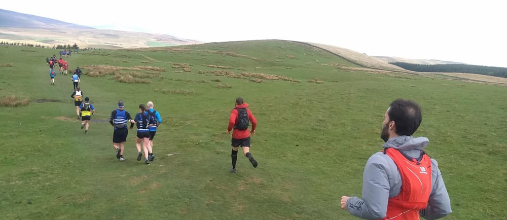 Running the Yorkshire 3 Peaks Fell race and staying at Gauber Bunk barn