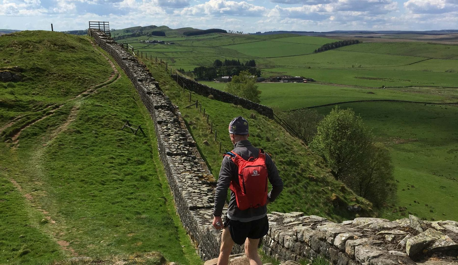 Hadrians Wall. Hostel or Bunkhouse accommodation at Slack House Farm & Florries Bunkhouse