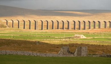 viaduct in the three peaks