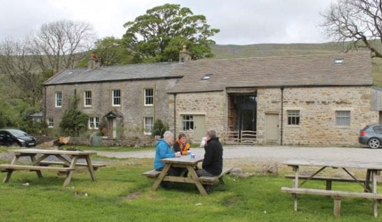 broadrake bunkhouse on the route of the three peaks challenge